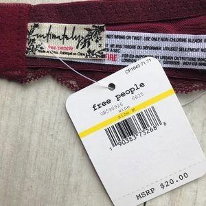 Free People Intimates & Sleepwear - Any 2/$25♥️Free People Halter Galloon Lace Bra NWT